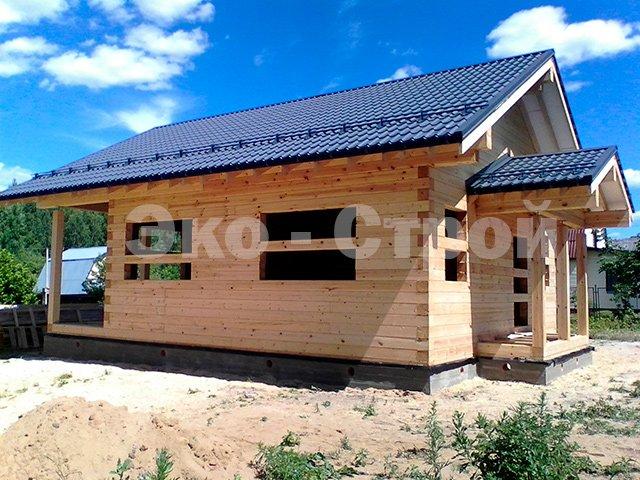 Дом из бруса ДУ60