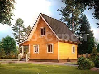 Дом из бруса ДУ 002