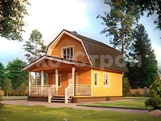 Дом из бруса ДУ 003