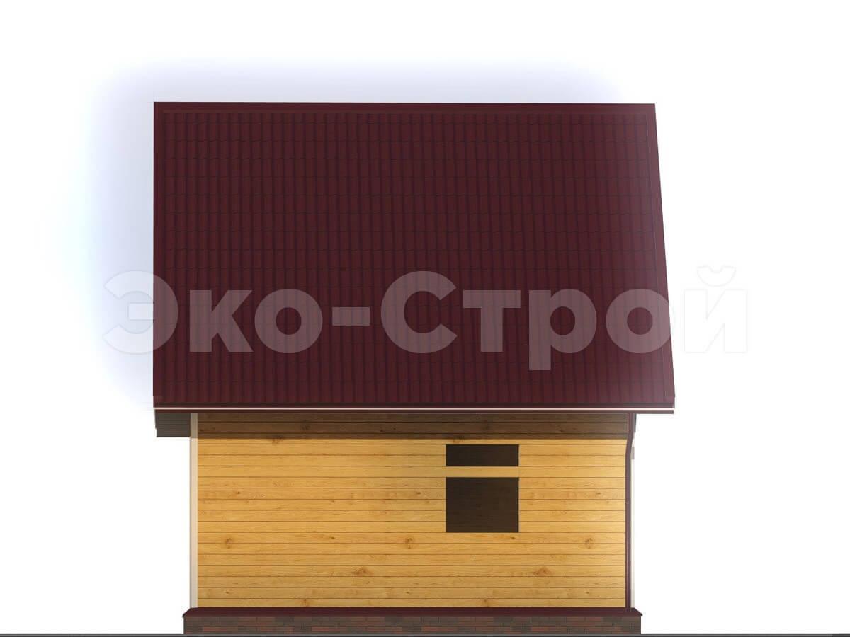 Дом из бруса ДУ 004 вид 1