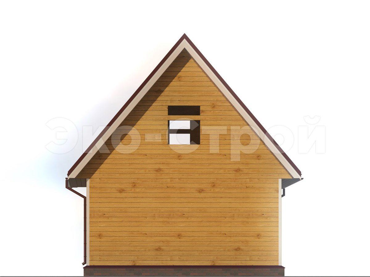 Баня из бруса БУ 013 вид 1