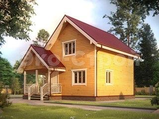 Дом из бруса ДУ 016
