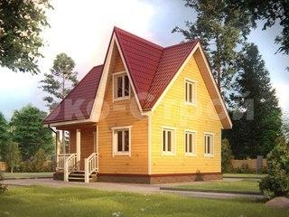 Дом из бруса ДУ 017