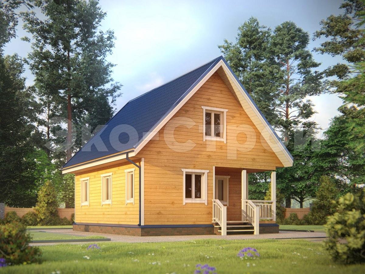 Дом из бруса ДУ 024