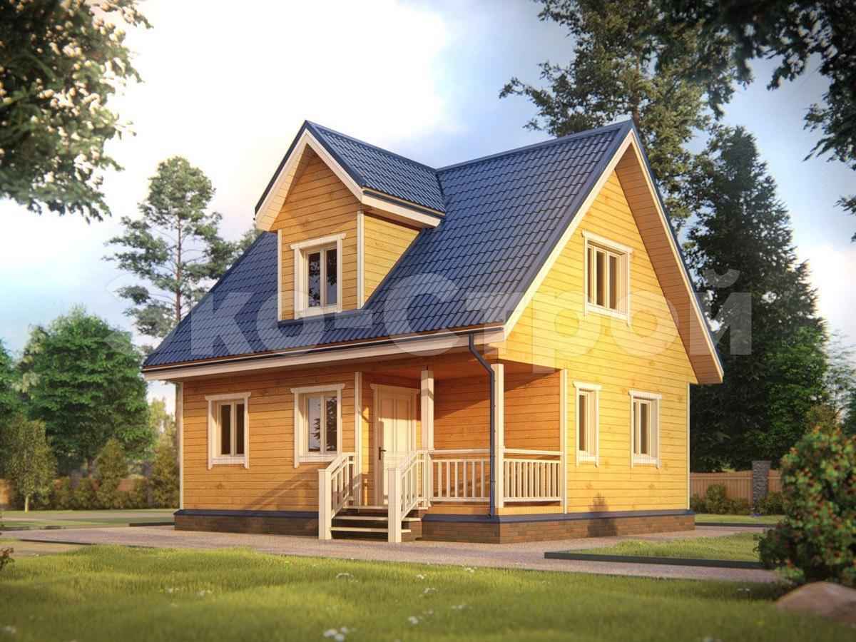 Дом из бруса ДУ 025