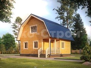 Дом из бруса ДБ 026