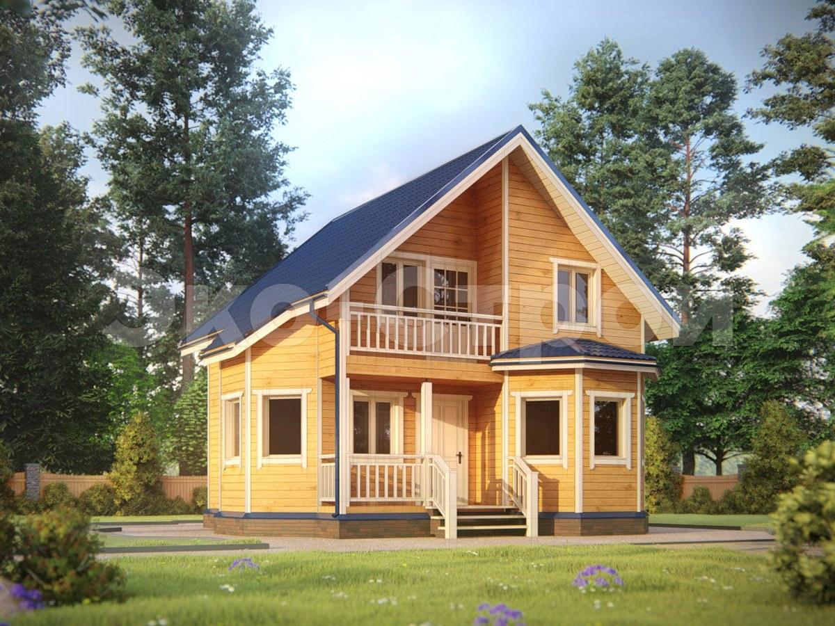 Дом из бруса ДУ 029