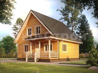Дом из бруса ДУ 033
