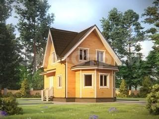 Дом из бруса ДУ 034
