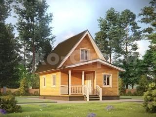 Дом из бруса ДУ 035