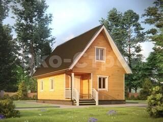 Дом из бруса ДУ 037