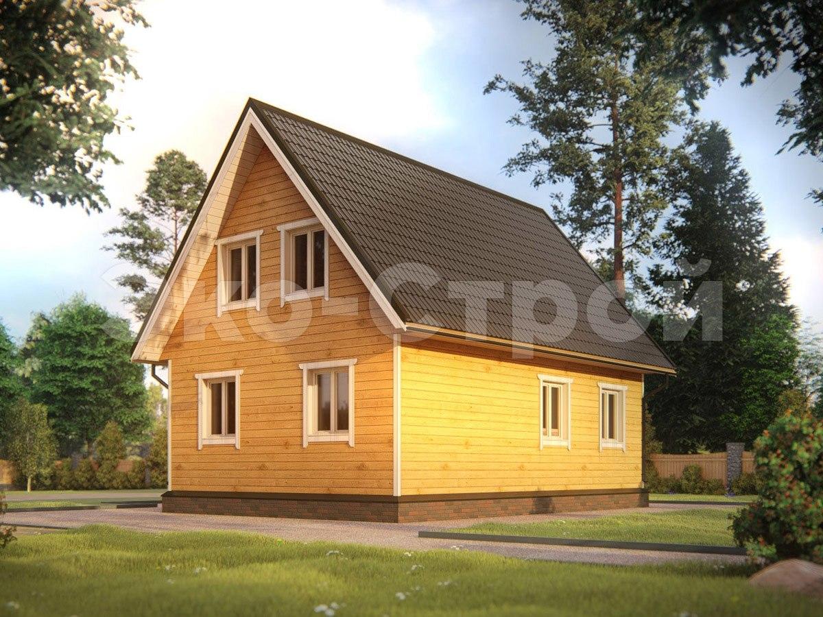 Дом из бруса ДУ 038 под ключ