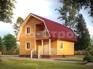 Дом из бруса ДУ 042