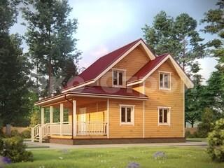 Дом из бруса ДУ 044