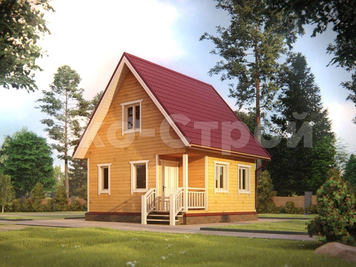 Дом из бруса ДУ 047