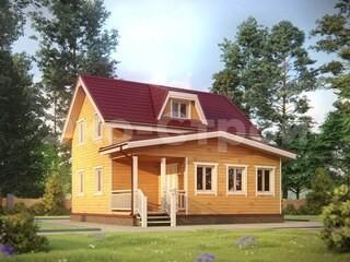 Дом из бруса ДУ 048