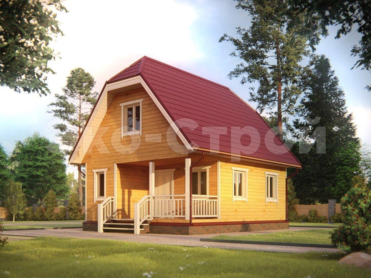 Дом из бруса ДУ 050