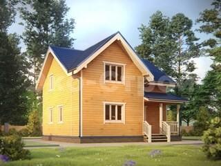 Дом из бруса ДУ 051