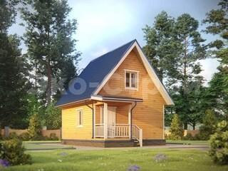 Дом из бруса ДУ 056