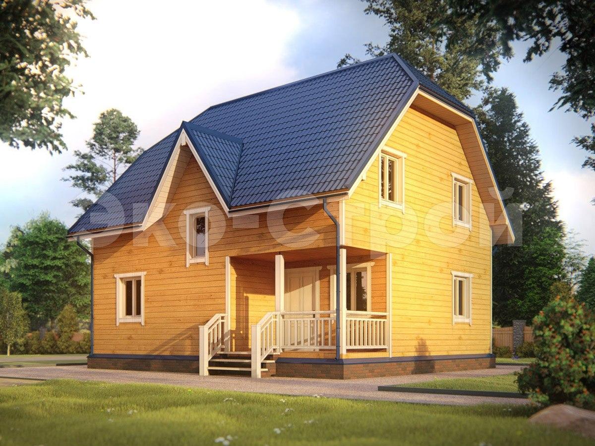 Дом из бруса ДУ 057