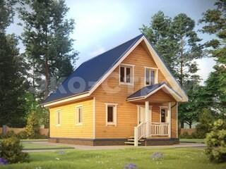 Дом из бруса ДУ 058