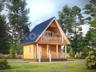 Дом из бруса ДУ 059