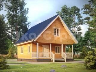 Дом из бруса ДУ 060