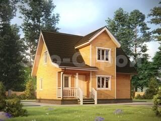 Дом из бруса ДУ 062