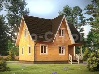 Дом из бруса ДУ 063
