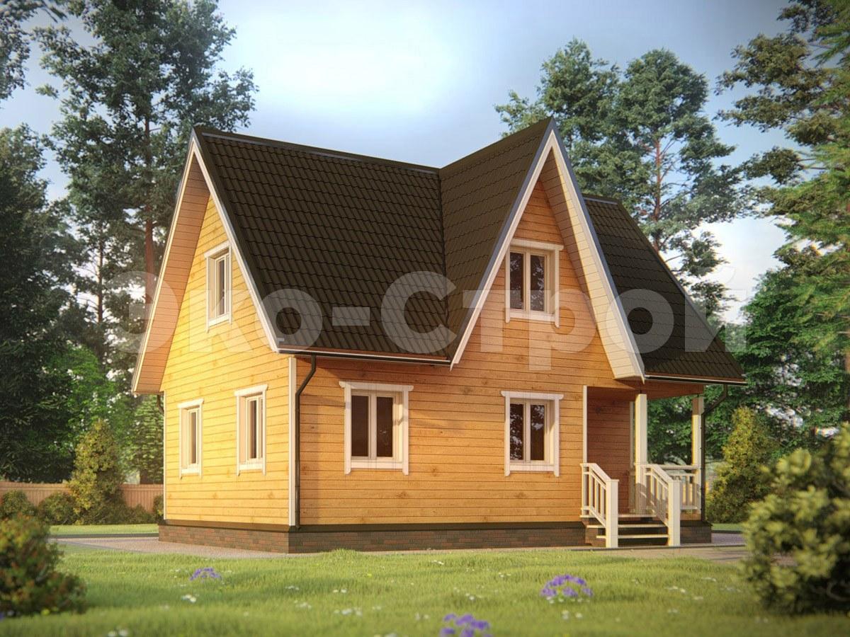 Дом из бруса ДУ 063 под ключ