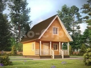 Дом из бруса ДУ 064