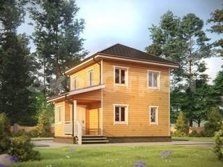 Дом из бруса ДУ 065