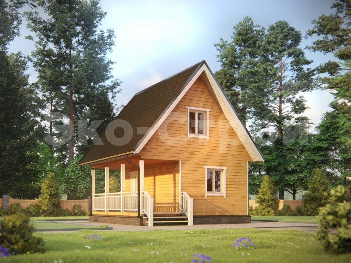 Дом из бруса ДУ 068