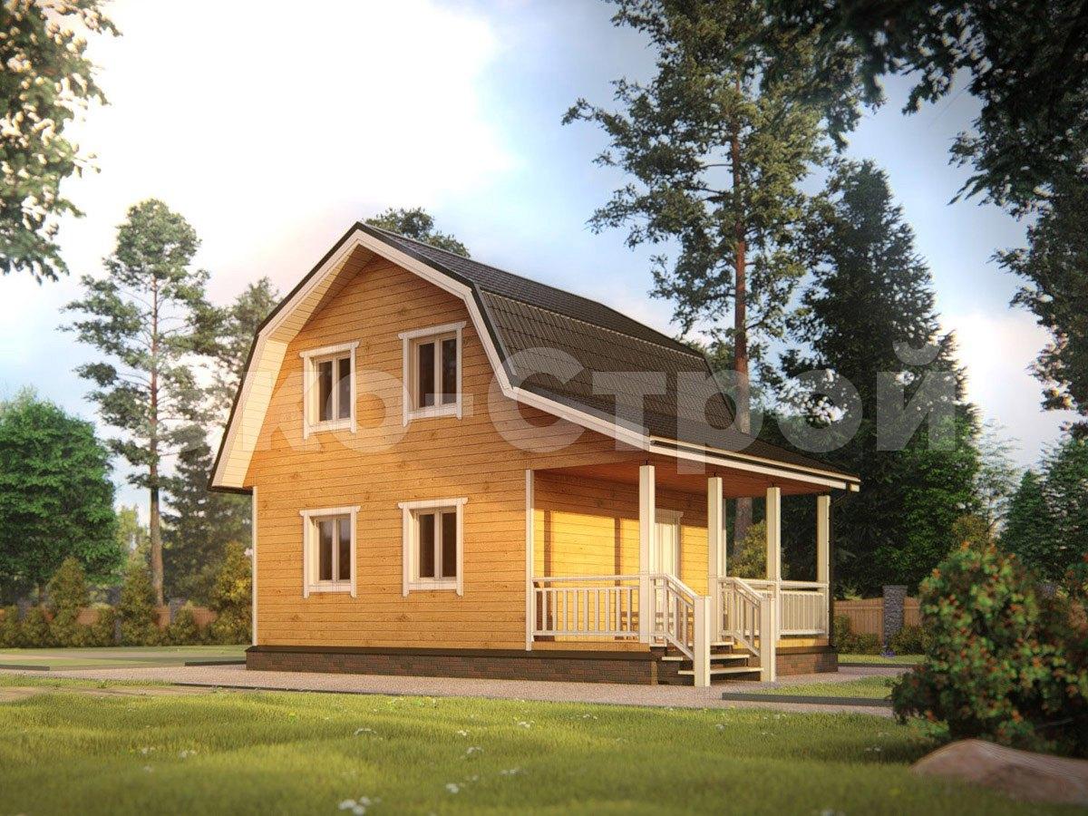 Дом из бруса ДУ 069