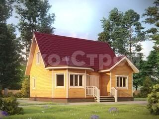 Дом из бруса ДУ 077