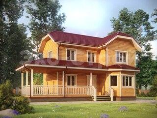 Дом из бруса ДУ 079
