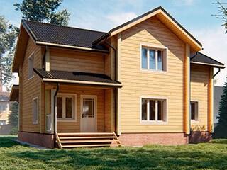 Дом из бруса ДУ 081