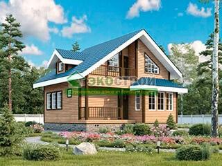 Дом из бруса ДУ 085