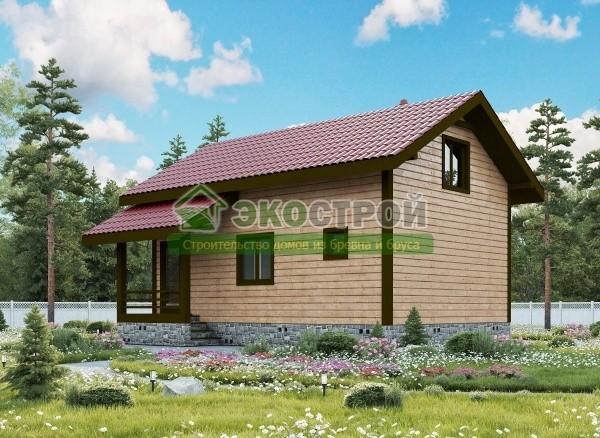 Дом из бруса ДУ 086