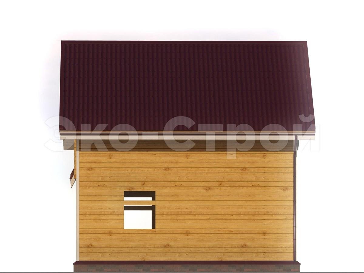 Дом из бруса ДУ 012 вид 2
