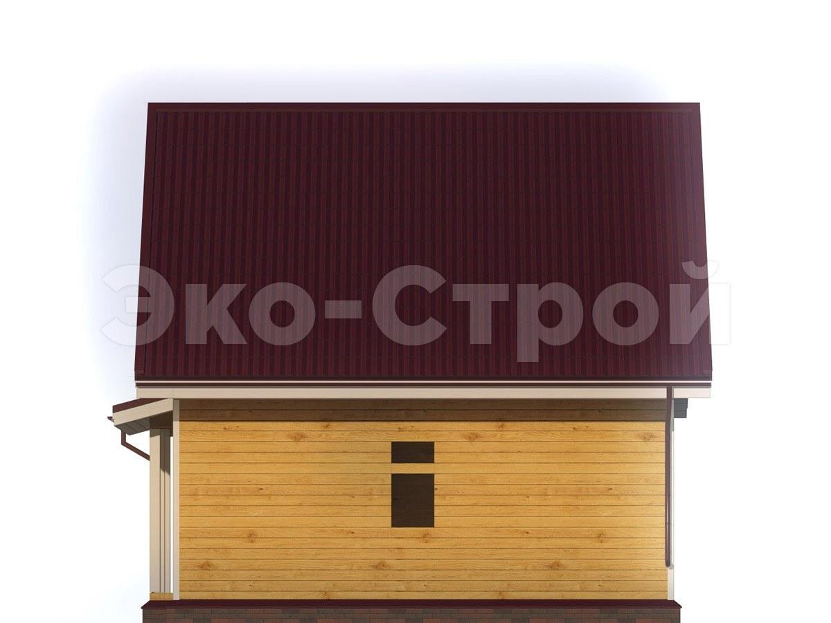 Дом из бруса ДУ 015 вид 3