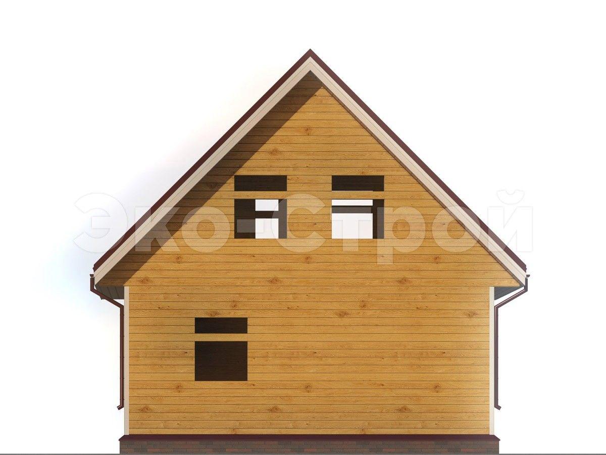 Дом из бруса ДУ 015 вид 2
