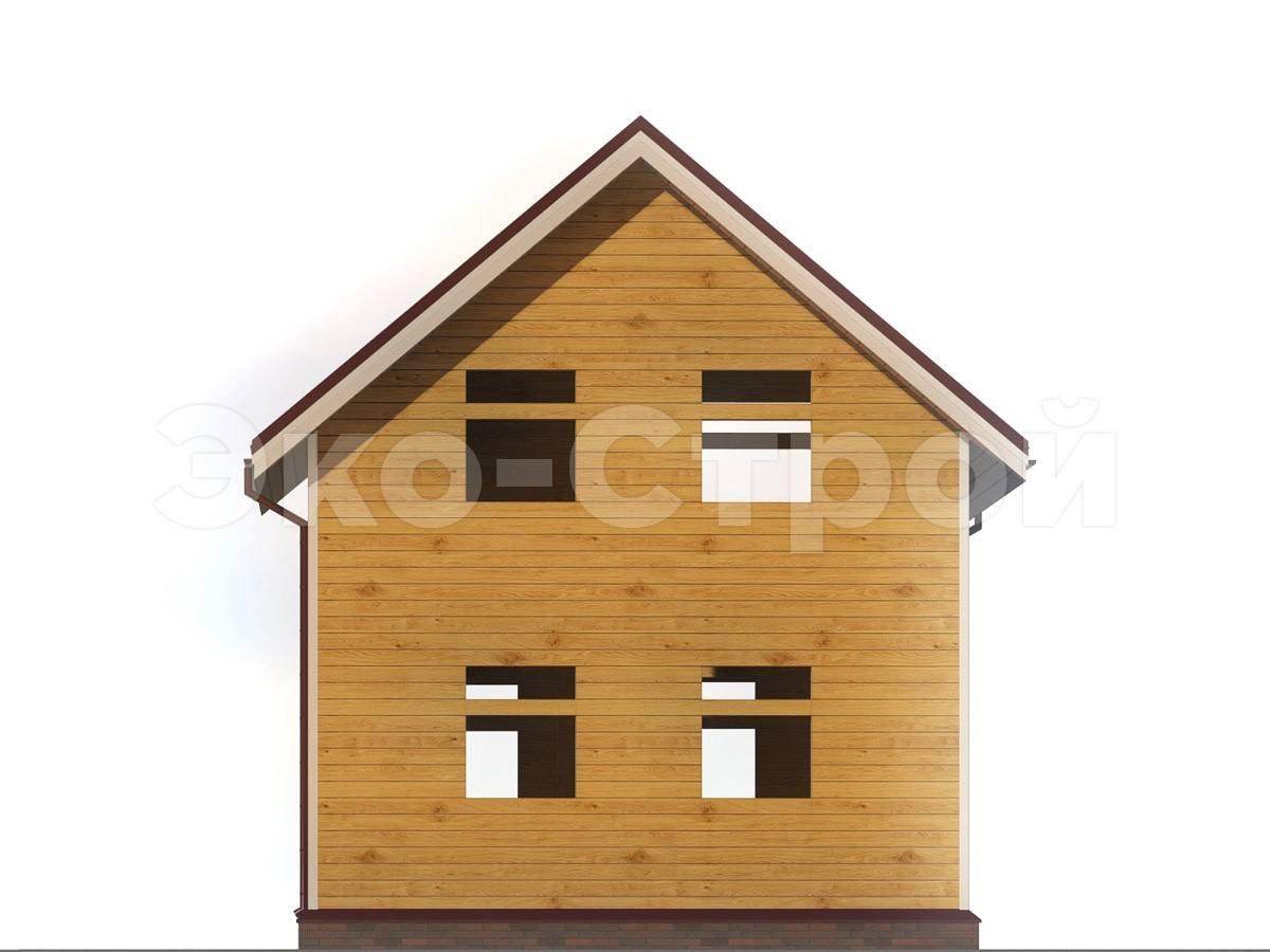 Дом из бруса ДУ 019 вид 4
