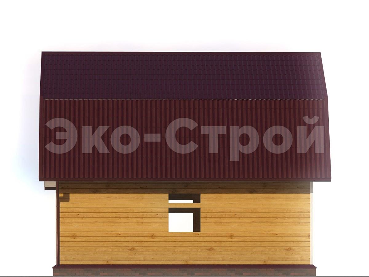 Дом из бруса ДУ 022 вид 2