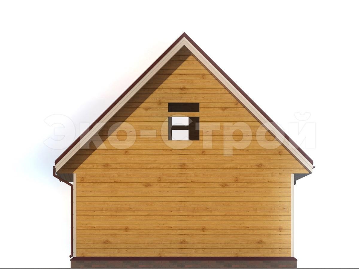 Дом из бруса ДУ 024 вид 2