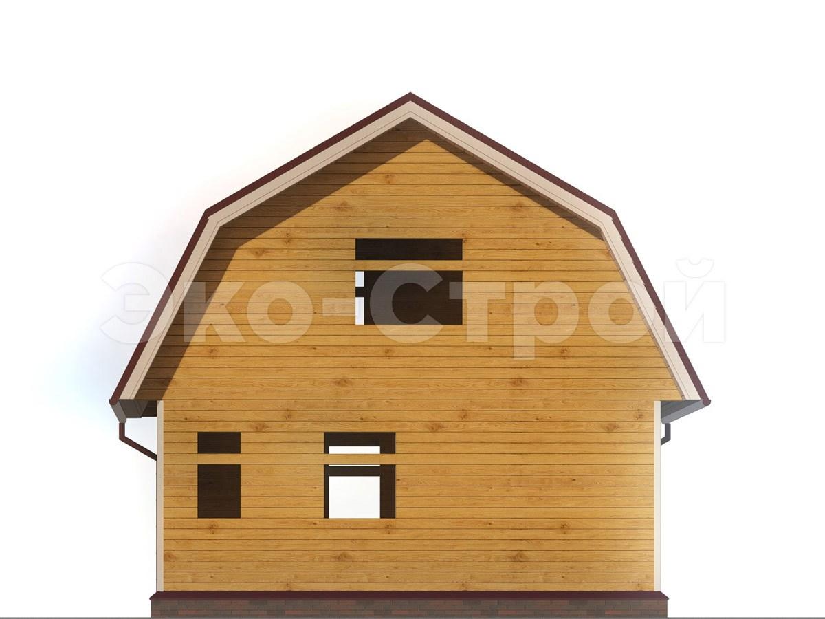 Дом из бруса ДБ 026 вид 2