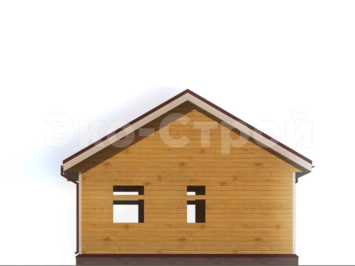 Дом из бруса ДУ 027 вид 2