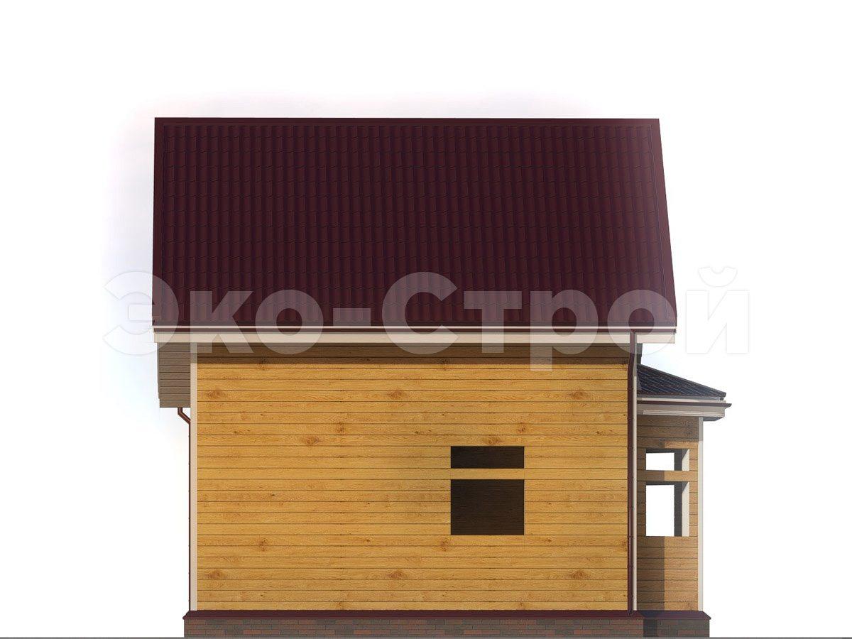 Дом из бруса ДУ 030 вид 1