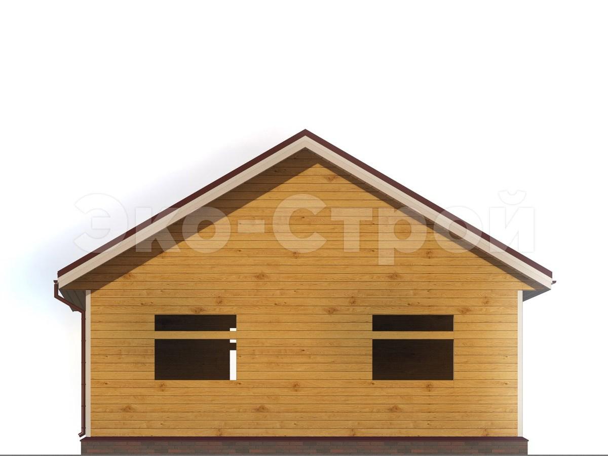 Дом из бруса ДУ 030 вид 2