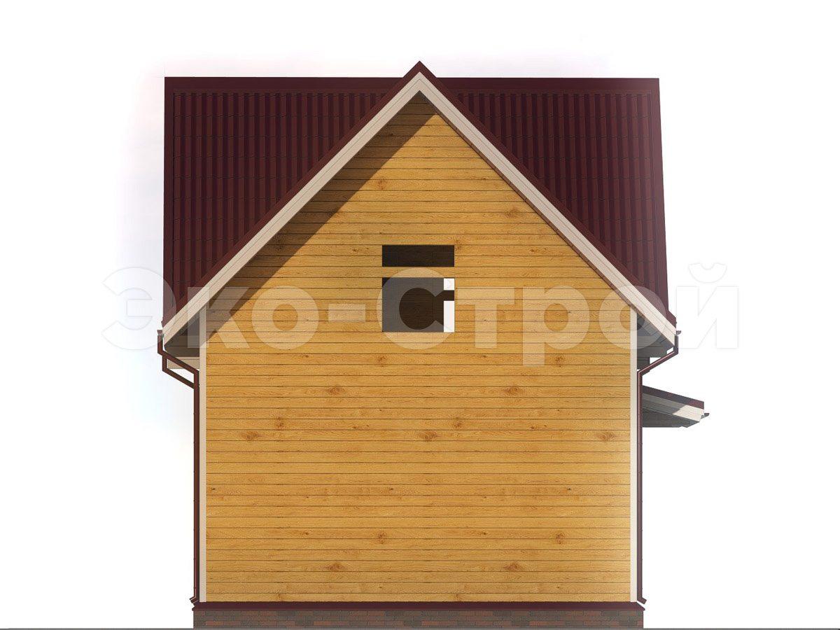 Дом из бруса ДУ 034 вид 2
